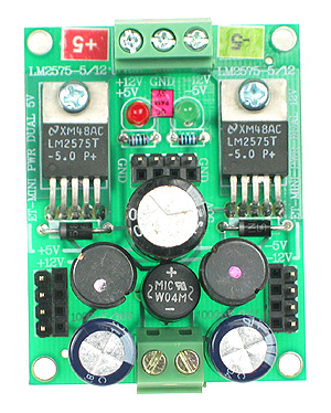Click for Larger Image - Dual 5V Power Supply Mini Board