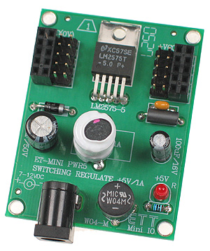 Click for Larger Image - Power Supply Mini Board