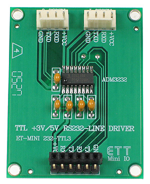 Click for Larger Image - RS232 to 3V Mini Board