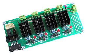 DC Opto-Isolated Output Board