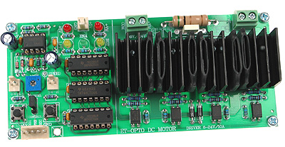 Opto-Isolated DC Motor Board
