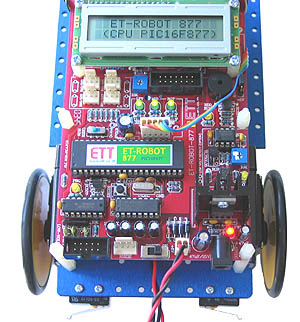 Robot 877 - LCD Display