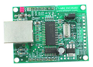 Click for Larger Image - Ethernet Mini Board