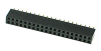 FHEADD40 - 40 Pin .100inch Straight Female Double Headers