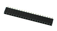 FHEADS20 - 20 Pin .100inch Straight Female Single Headers
