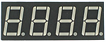 Four Digit Seven-Segment LED Display