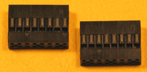 "HDCONND16 - 16 (2x8) Pin .100"" Double Row Header Connector"
