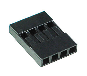 HDCONNS4 - 4 Pin .100inch Header Connector