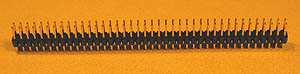 HEADD80 - 80 Pin .100inch Straight Male Double Row Headers