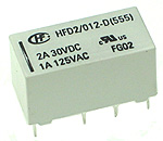 2A 5V DPDT PCB Relay