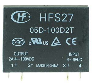 SSR2A50D - SPST 3-100Vdc 2A DC/DC Solid State Relay
