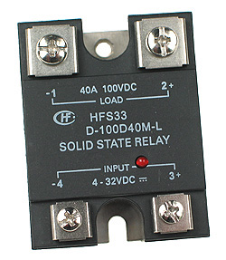 SSRDC200V40A - SPST 0-200Vdc 40A DC Solid State Relay Technical Data