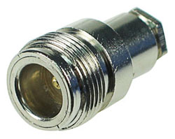 Standard N Female Clamp Connector with Pin