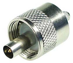 UHF Male Clamp Connector
