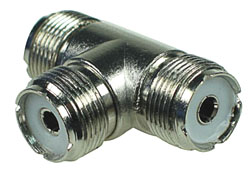 UHF 3 Way Connector