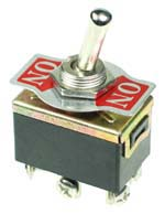 Heavy Duty Panel Mount Toggle Switches