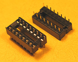 ICS16 - 16 Pin IC Socket