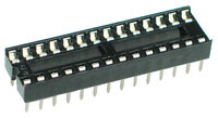28 pin Narrow IC Socket
