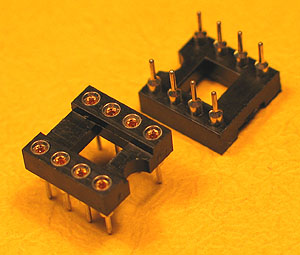 ICS8MT - 8 Pin Machine Tooled IC Socket