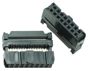 IDCC16 - 16 Contact IDC Socket Connector