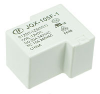 JQX-105F-12 - SPDT 12V 20A Heavy-Duty PCB Relay