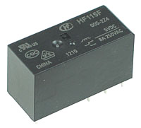 JQX-115F-24 - SPDT 24V 10A PCB Relay