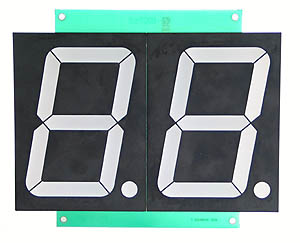 Double Large 7-Segment LED Display