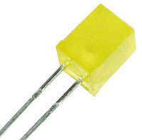 5x5mm Yellow Square LED