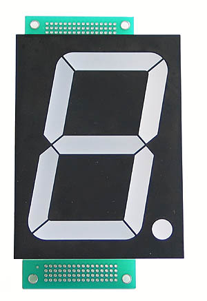 Single Large 7-Segment LED Display