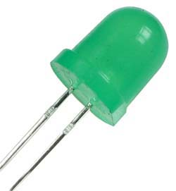 LED8G - Green 8mm Round LED