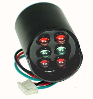 Red-Green LED Cluster