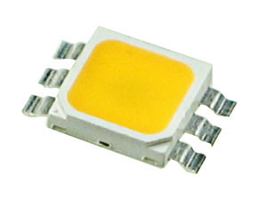 LEDSTARPLCCWW - Warm White PLCC Super-Bright 1W Star LED