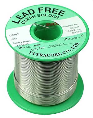 how to tell if solder is lead free