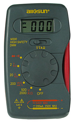High Isolation Voltage Digital Multimeter