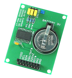 Ds3232 Real Time Clock Mini Board