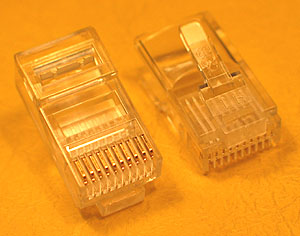 MODP10W10W - 10 Way - 10 Wire Modular Crimp Plug