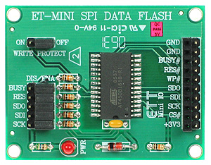 Click for Larger Image - Flash Memory Mini Board
