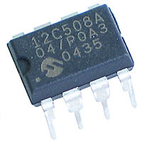 PIC12C508A-04/P - PIC12C508 OTP 8-pin 4MHz Microcontroller