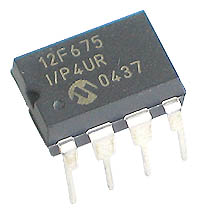 PIC12F675-I/P - PIC12F675 Flash 8-Pin 1kb 20MHz Microcontroller