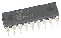 PIC16F54-I/P - PIC16F54 Flash 18-pin 20MHz 512Byte Microcontroller