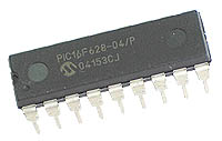 PIC16F628 Microchip IC