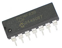PIC16F630-I/P - PIC16F630 Flash 14-pin 1kB Microcontroller
