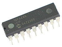 PIC16F648A-I/P - PIC16F648A Flash 18-pin 4kB Microcontroller with Comparator