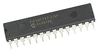 PIC16F737-I/SP - PIC16F737 Flash 28-pin 4kB Microcontroller with A/D