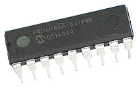 PIC16F84 Microchip IC