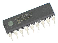 PIC16F87 Microchip IC