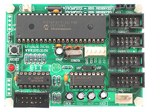 Click for Larger Image - PIC16F877 Controller Board
