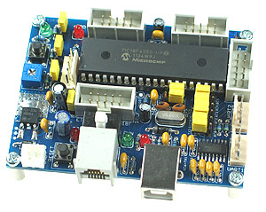 Click for Larger Image - PIC18F4550 Controller
