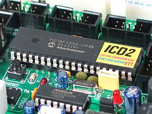 Click for Larger Image - PIC18F4550 Development Board