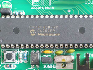PIC18F458 Development Board
